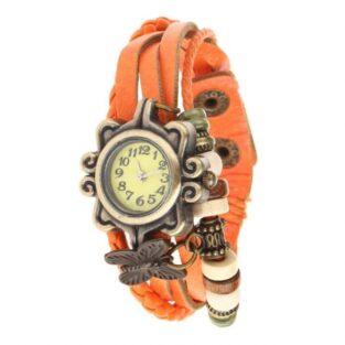 מתנה לכלה לחינה ולמסיבת רווקות: שעון לאישה ברונזה