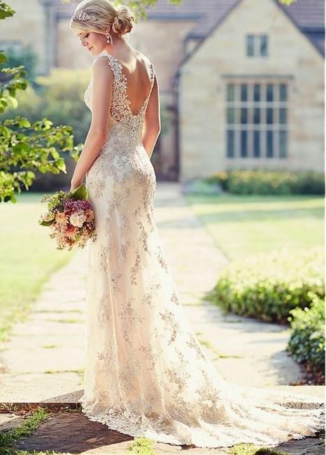 שמלת כלה בהזמנה דגם קורל