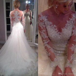 שמלת כלה בהזמנה דגם ענבר