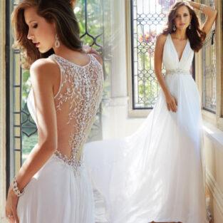 שמלת כלה בהזמנה דגם גליה