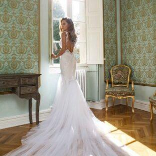 שמלת כלה בהזמנה דגם ספיר