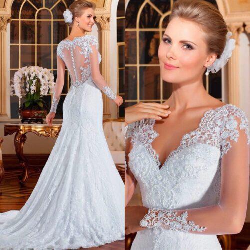 שמלת כלה בהזמנה דגם סתיו