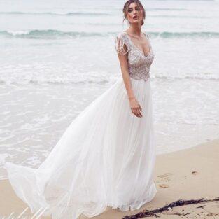 שמלת כלה בהזמנה דגם ונוס